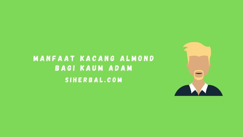 Manfaat Kacang Almond Bagi Kaum Adam