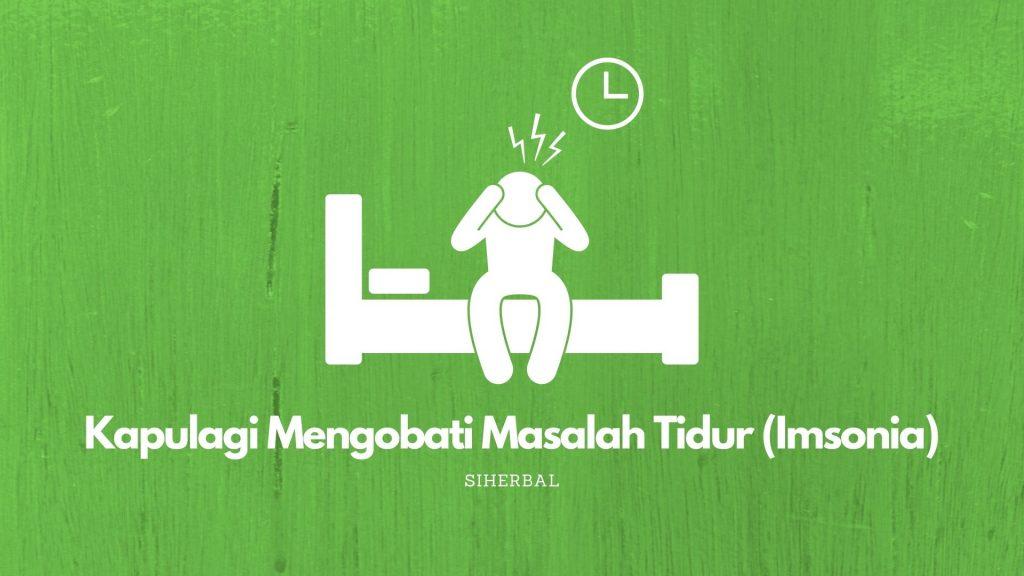 Mengobati Masalah Tidur