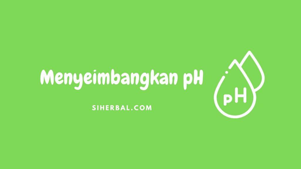 Menyeimbangkan pH - Manfaat Jeruk Nipis