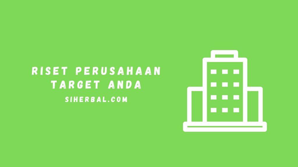 Riset Perusahaan Target Anda