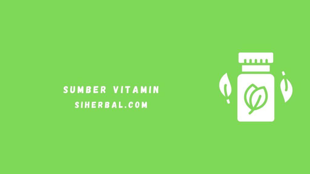 Sumber Vitamin